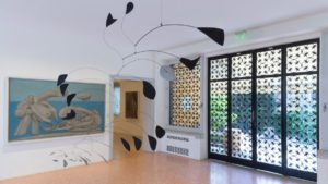 Interior of the Peggy Guggenheim Collection, Venice, Italy, 2014