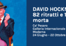 DAVID HOCKNEY. 82 ritratti e 1 natura morta