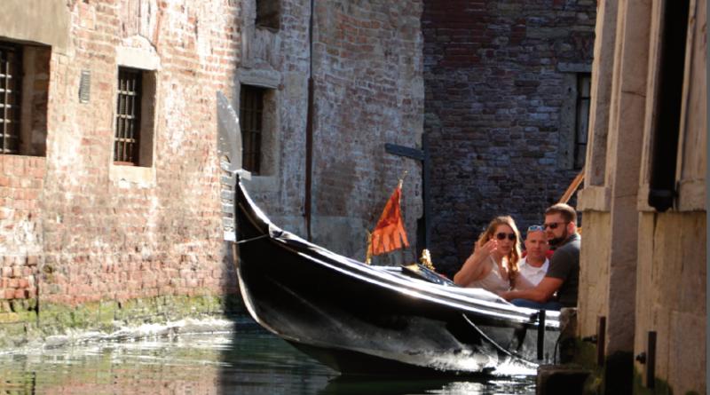 On a gondola, but not only…