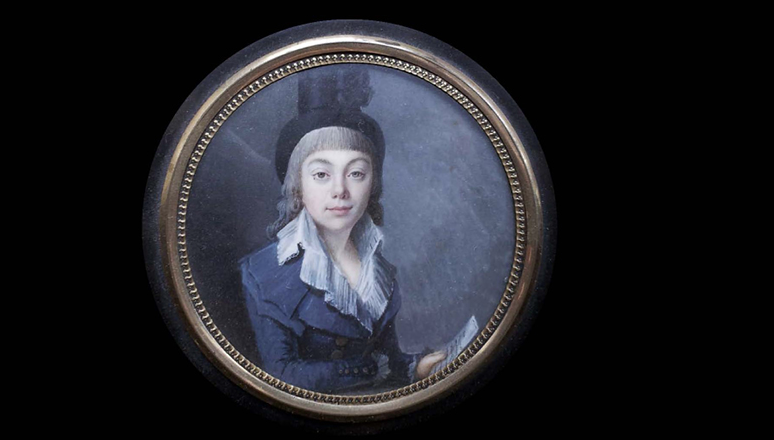 Portraits in miniature and other mementos in Napoleon's time